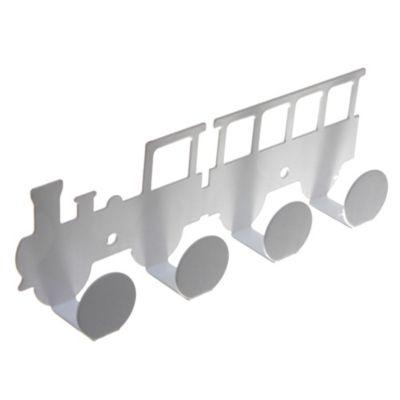 Percha infantil Locomotora blanca