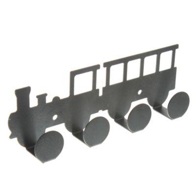 Percha infantil Locomotora negra