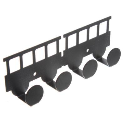 Percha infantil Vagon negro