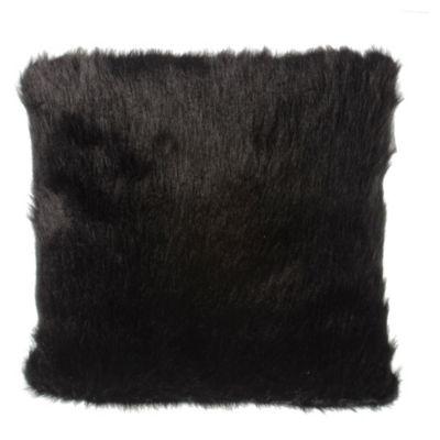 Almohadón piel sintetica negro