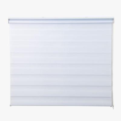 Cortina enrollable día y noche lite blanca 120 x 165 cm