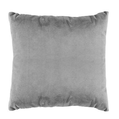 Almohadón velvet gris 40 x 40 cm