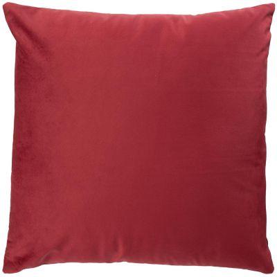 Almohadón velvet rojo 40 x 40 cm