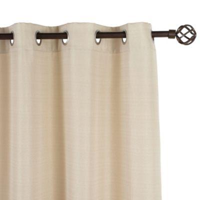 Cortina tráslucidas camil de tela natural 140 x 220 cm