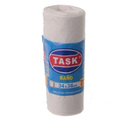 Bolsa rollo blanca 34 x 38 cm