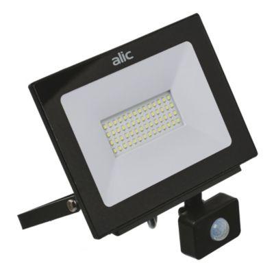 Proyector LED SL-FL c/sensor 50W LD  Slim 105°