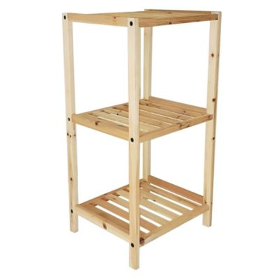 Estantería 3 estantes cubo 35 x 30 x 70 cm