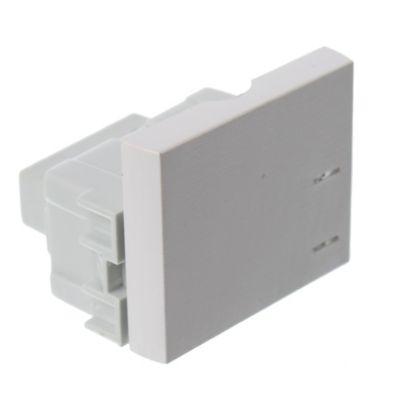 Módulo interruptor 1/2 teclón Platinum blanco
