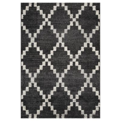 Alfombra doux shaped 133 x 190 cm gris