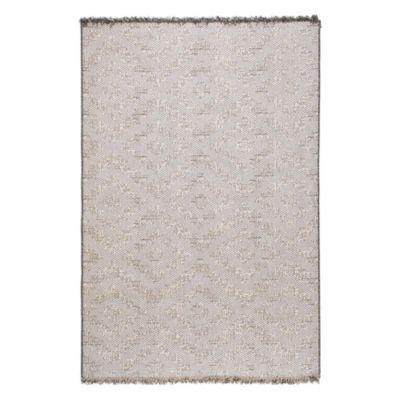 Alfombra chiva forma 160 x 235 cm gris