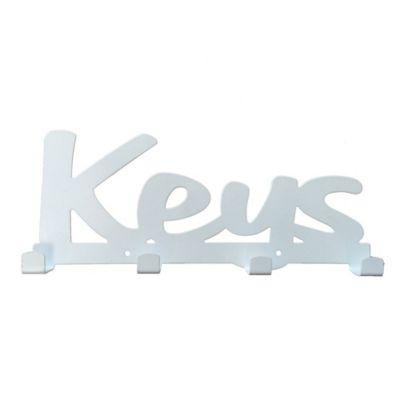 Perchero de pared Keys 24.5 x 10.5 cm