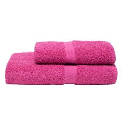 Toallón 400 g 70 x 140 cm hot pink