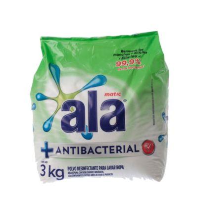 Jabón en polvo antibacterial 6 x 3 kg