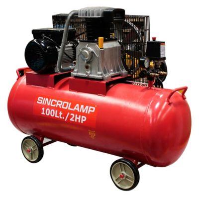 Compresor 100 litros 2 hp 220 v