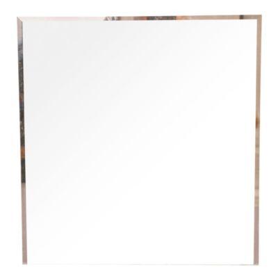 Espejo para baño biselado 50 x 60 cm