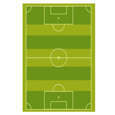 Alfombra infantil Fútbol 140 x 200 cm 2