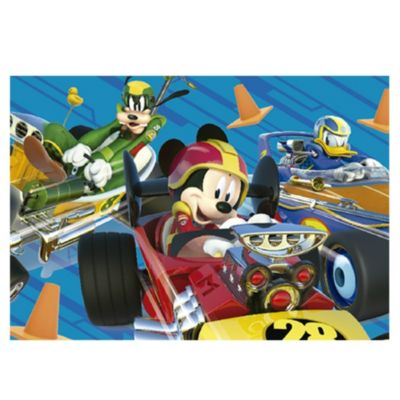 Alfombra infantil Mickey road 100 x 140 cm 3