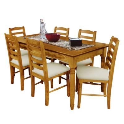 Juego de comedor Tradición mesa + 6 sillas