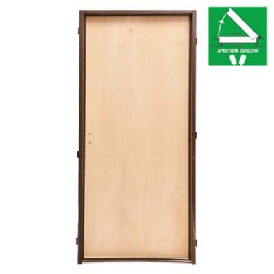 Puerta placa de interior Guatambú 70 x 200 x 10 derecha