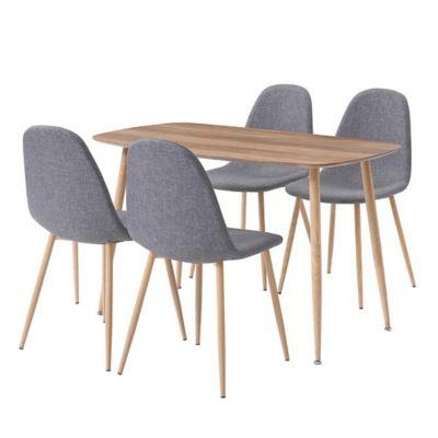 Juego de comedor Dominga mesa + 4 sillas