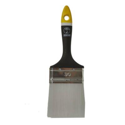 Pincel neón para barniz n° 30 negro y amarillo