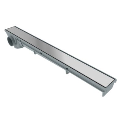 Rejilla lineal 50 x 5 cm acero inoxidable