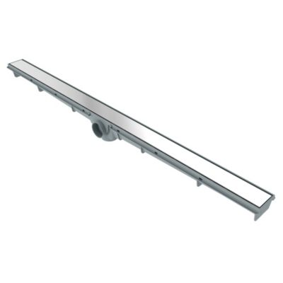 Rejilla lineal 90 x 5 cm acero inoxidable