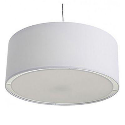Lámpara colgante blanca 35 cm E27