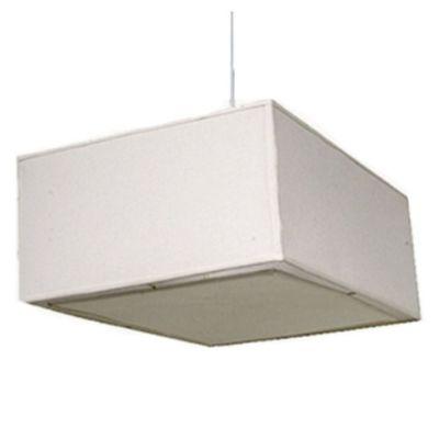 Lámpara colgante beige 30 cm E27