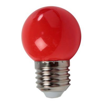 Lámpara LED 2 W rojo E27