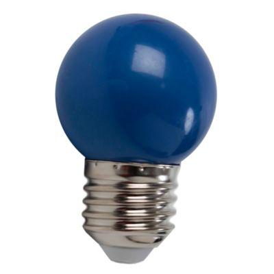 Lámpara LED 2 W Azul E27