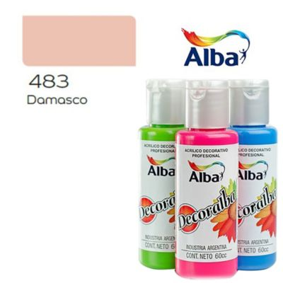Acrílico damasco 60 ml