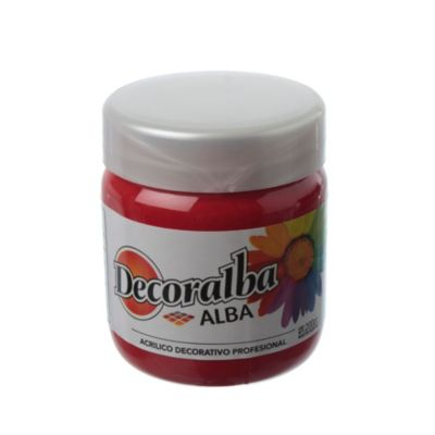 Decoralba rojo 200 ml