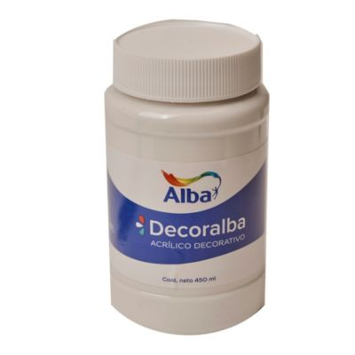 Acrílico blanco 450 ml