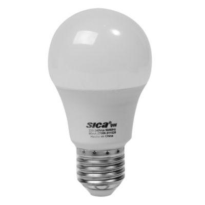 Lámpara LED 9 w E27 Cálida
