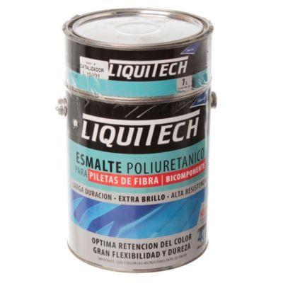 Esmalte poliuretanico para piletas celeste 5 l