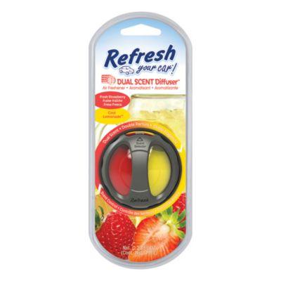 Difusor aromatizador dual frutilla/limón
