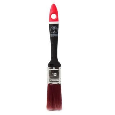 Pincel neón para esmalte n° 10 negro y rojo