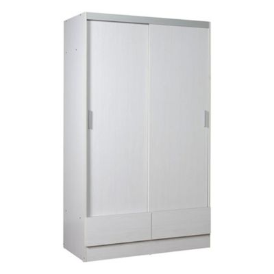 Placard tana plus 2 puertas corredizas blanco