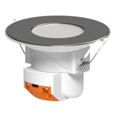 Spot de embutir LED 4 w niquel cálido