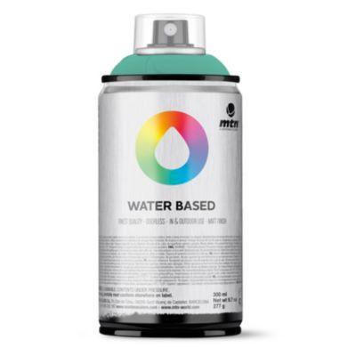 Pintura en aerosol al agua verde par 300 ml