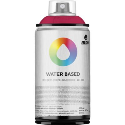 Pintura en aerosol al agua magenta 300 cc