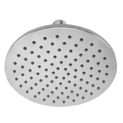 Plato de ducha de acero inoxidable redondo 25 cm