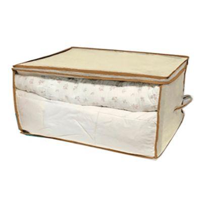 Organizador con cierre 48 x 58 x 33 cm beige
