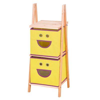 Estantería organizadora de madera Smile x 2 estantes