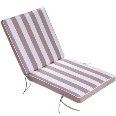 Almohadón para silla beige 40 x 40 cm