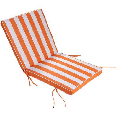 Almohadón para silla naranja 40 x 40 cm