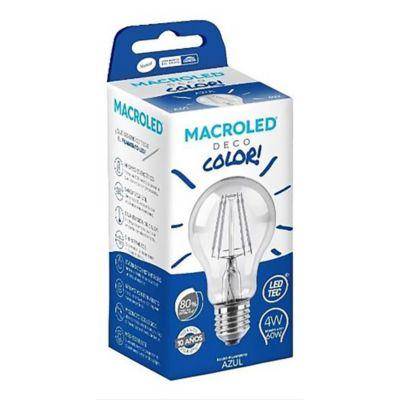 Lámpara LED filamento 4 w Azul