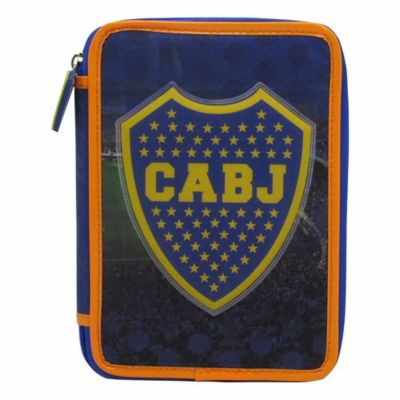 Cartuchera rectangular Boca Juniors 1 piso