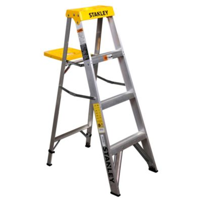 Escalera plegable de aluminio 4 escalones